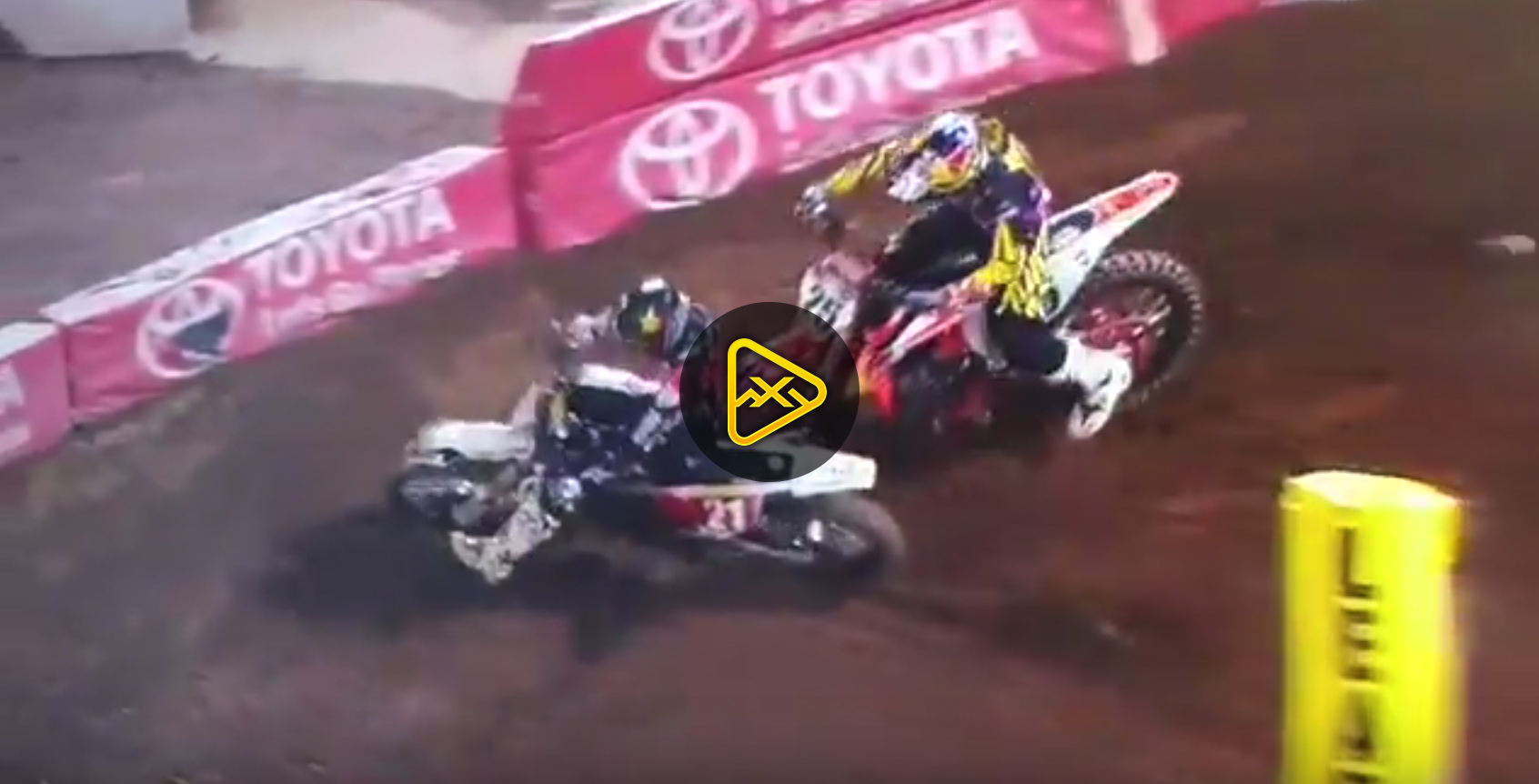 Jason Anderson Takes Out Marvin Musquin – Oakland SX