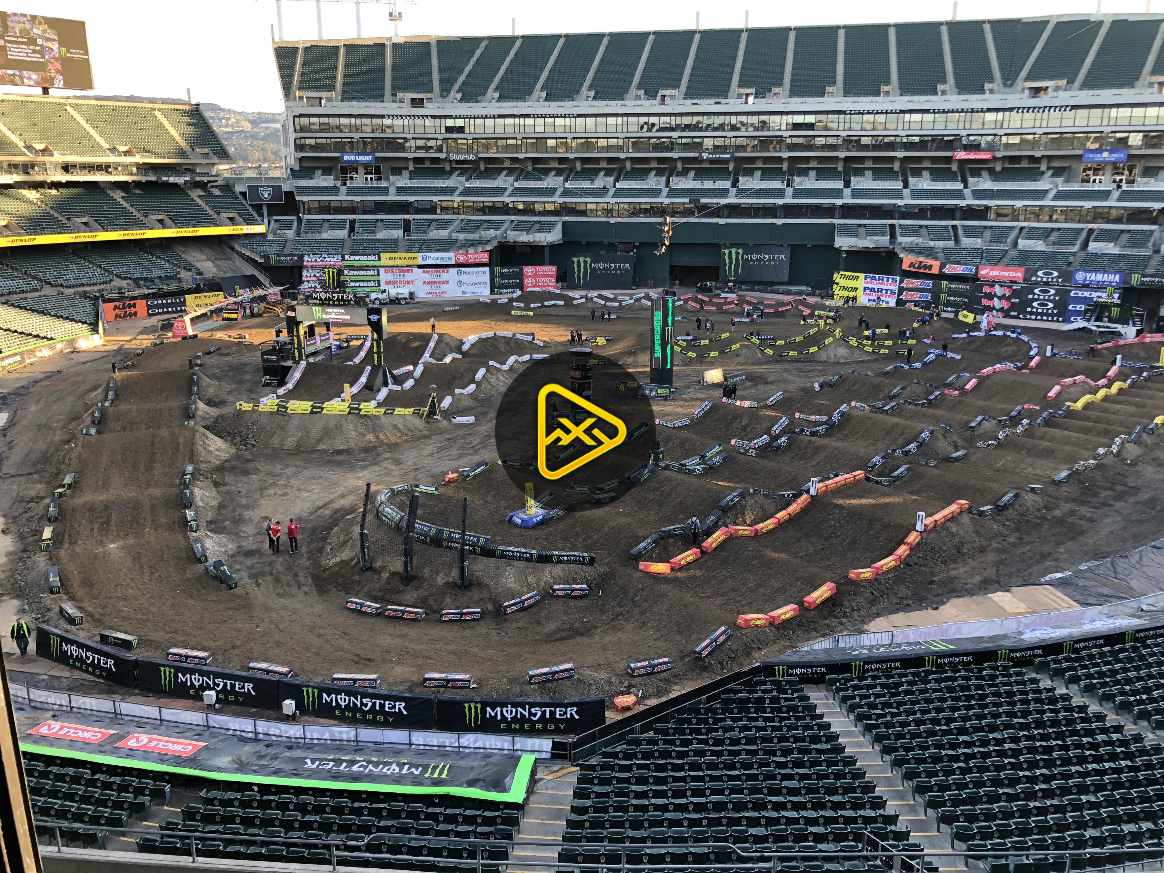 Track Conditions Report – 2018 Oakland SX