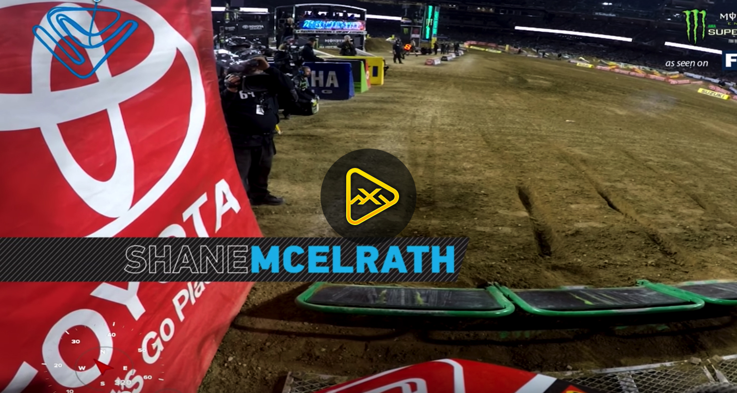 GoPro: Shane McElrath at 2018 San Diego SX