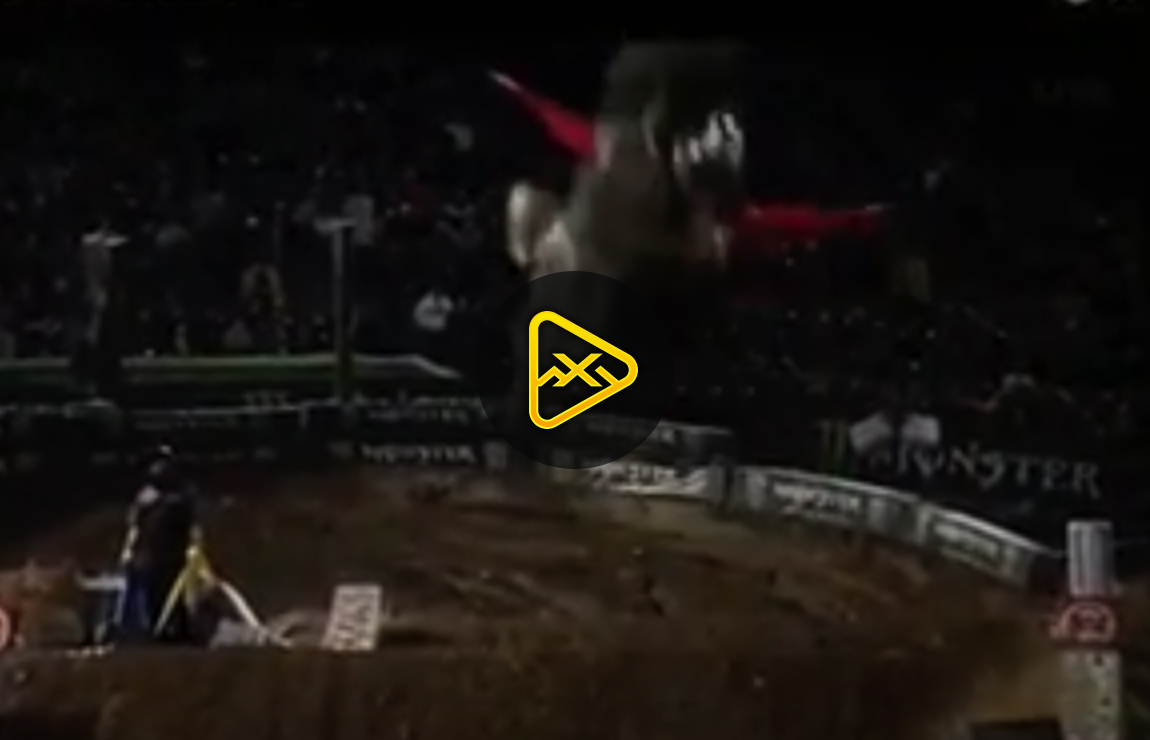 Tyler Bowers' Crazy Ghost Ride Crash – Oakland SX