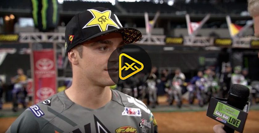 Zach Osborne Interview – 2018 Arlington SX