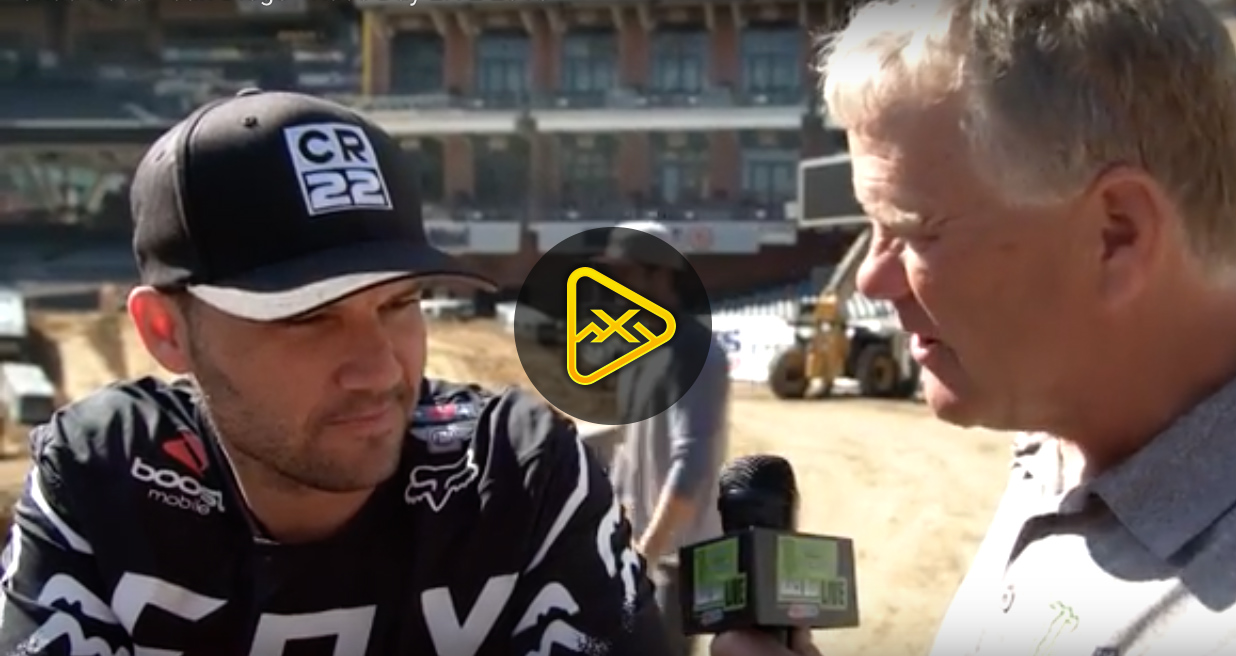 Chad Reed Interview – 2018 San Diego SX