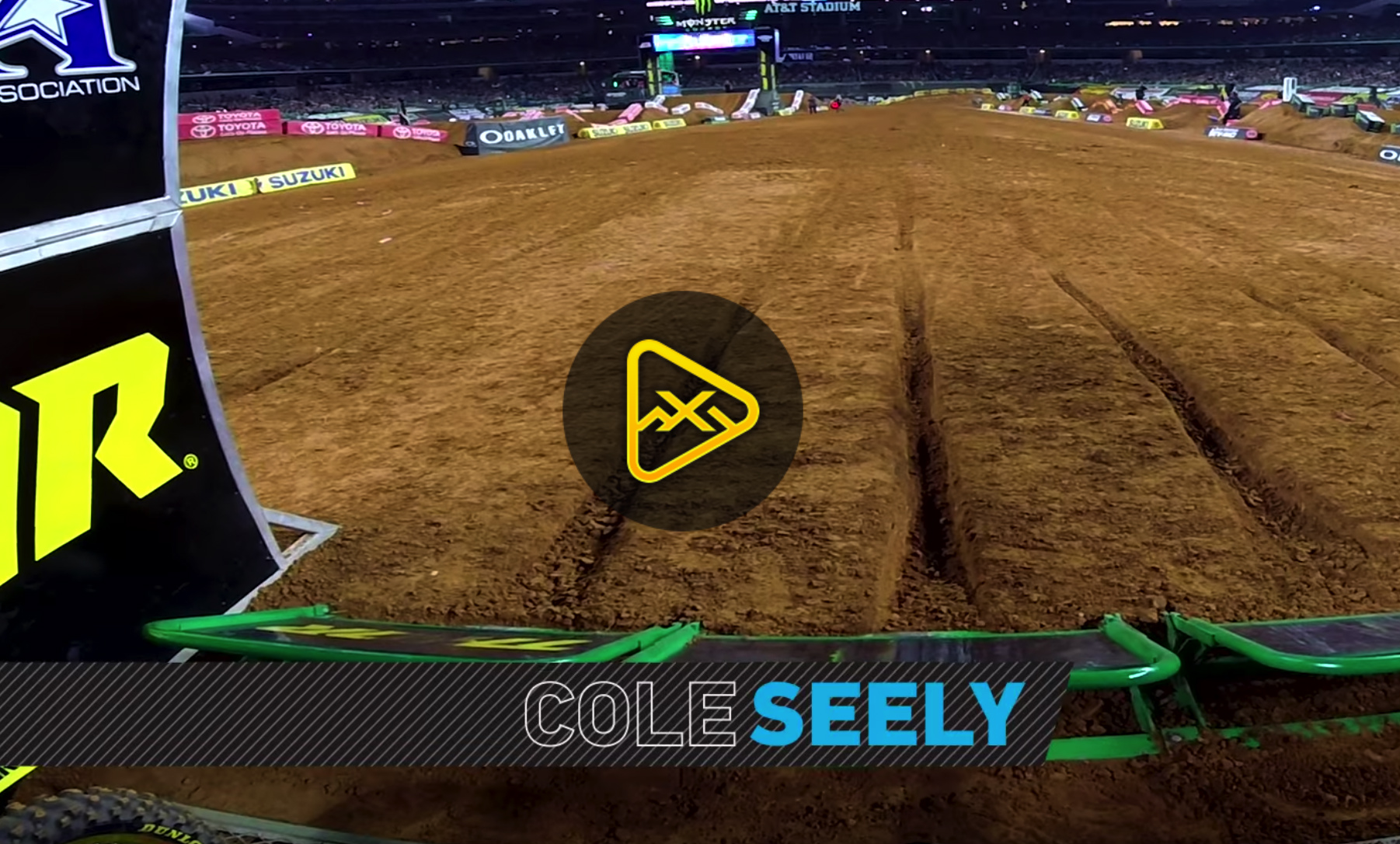 GoPro – Cole Seely at 2018 Arlington SX