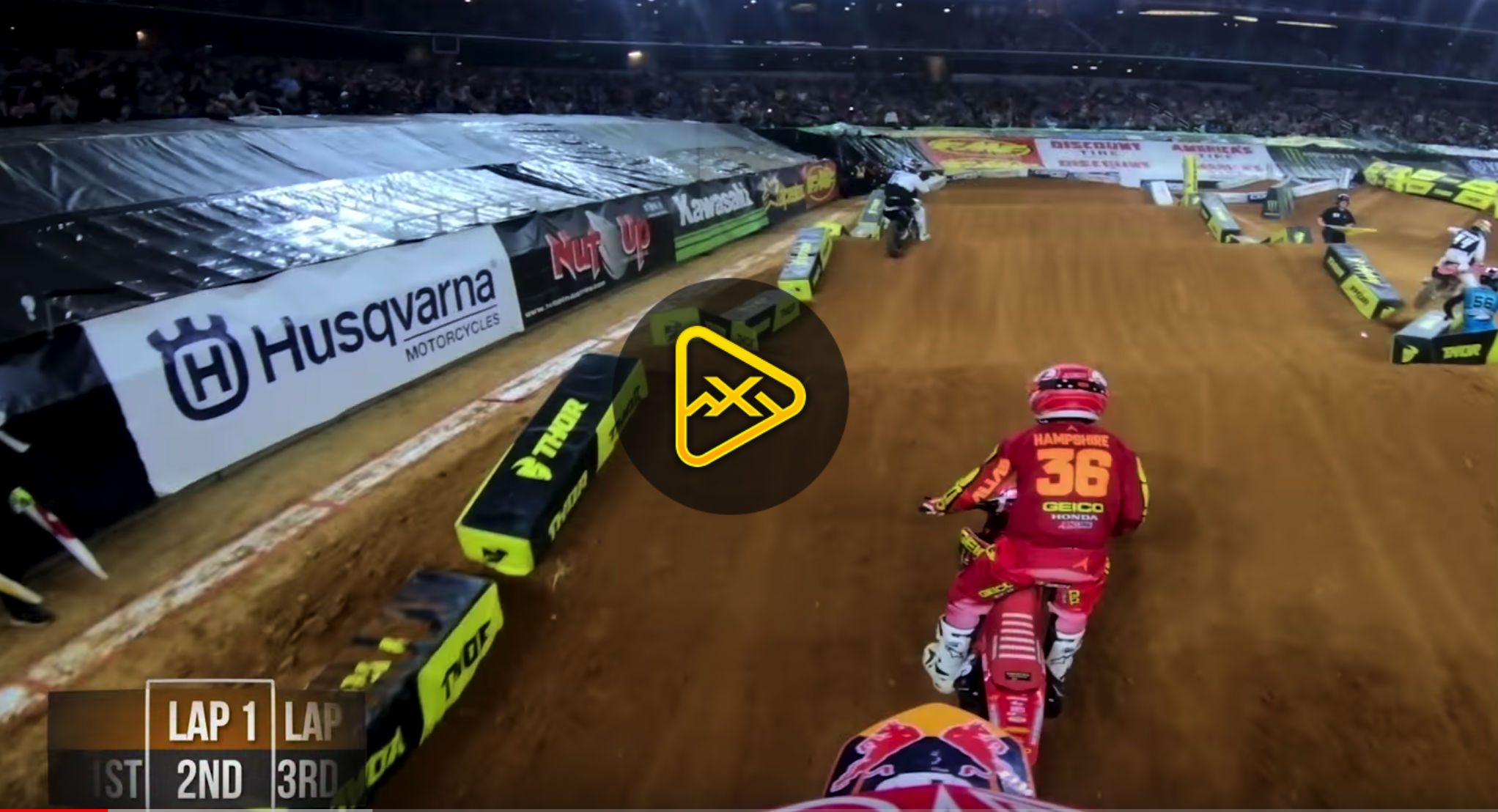 GoPro – Sean Cantrell at 2018 Arlington SX