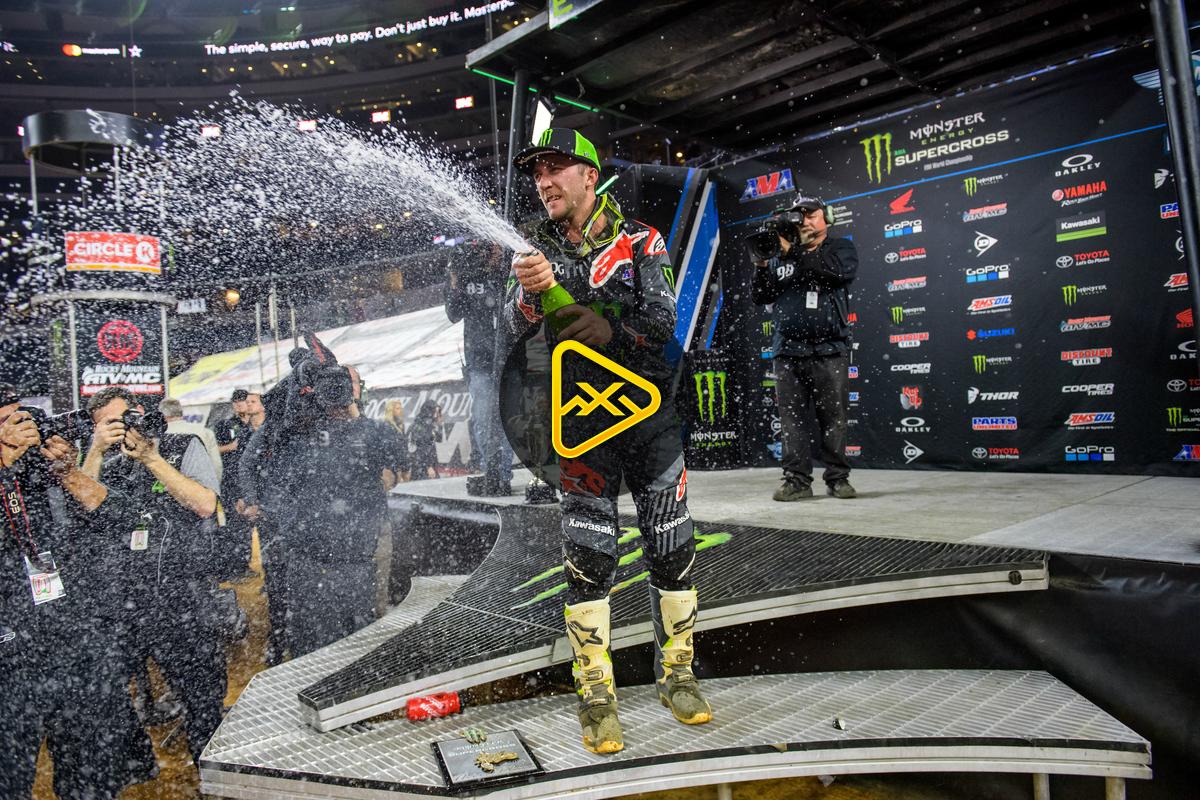 450SX Main Event Highlights – 2018 Tampa SX