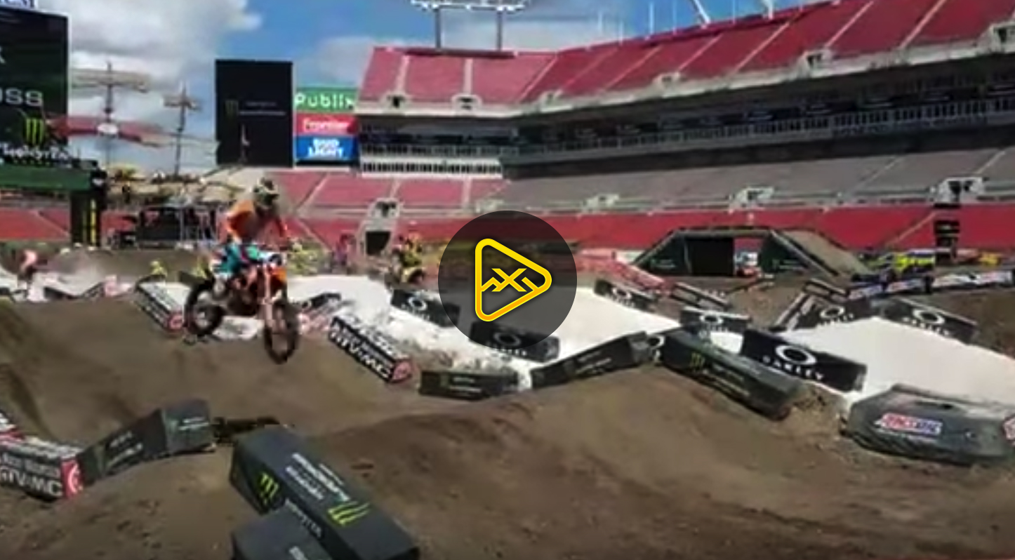 Raw: Press Day Highlights from 2018 Tampa SX