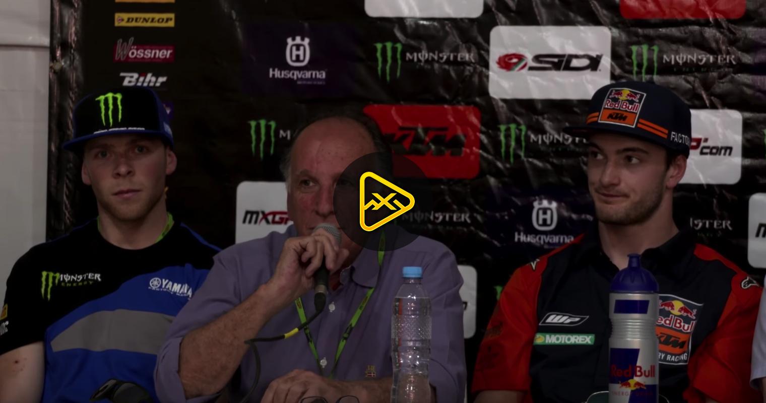 Press Conference – 2018 MXGP Argentina