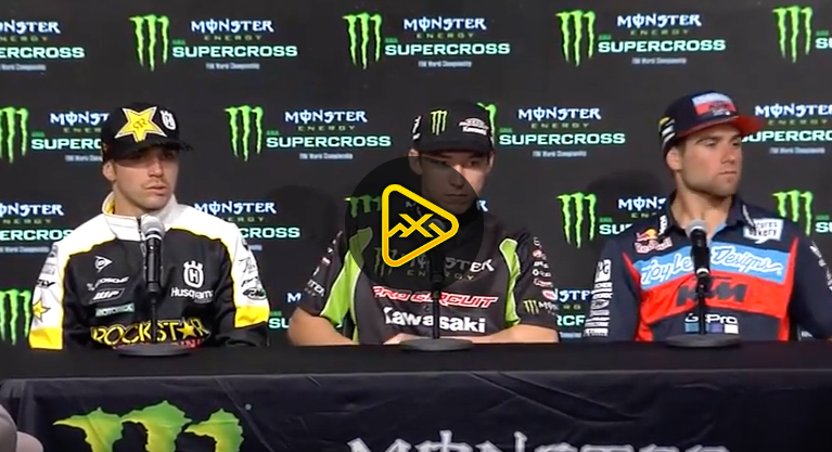 250SX Press Conference – 2018 Atlanta SX