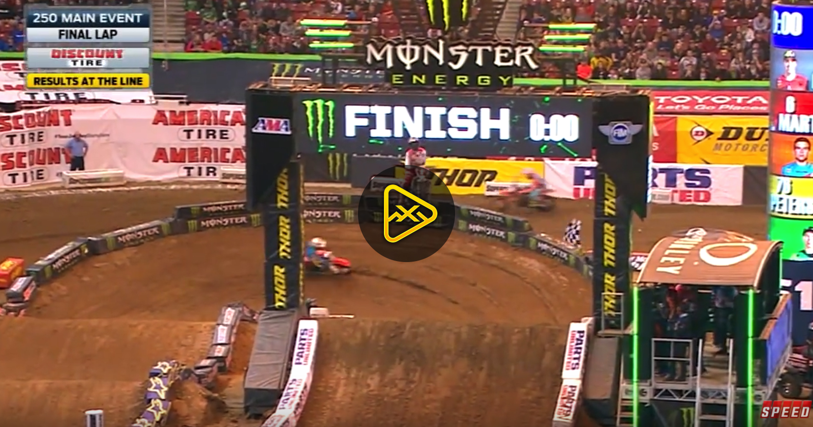 250SX Main Event Highlights – 2018 St Louis SX