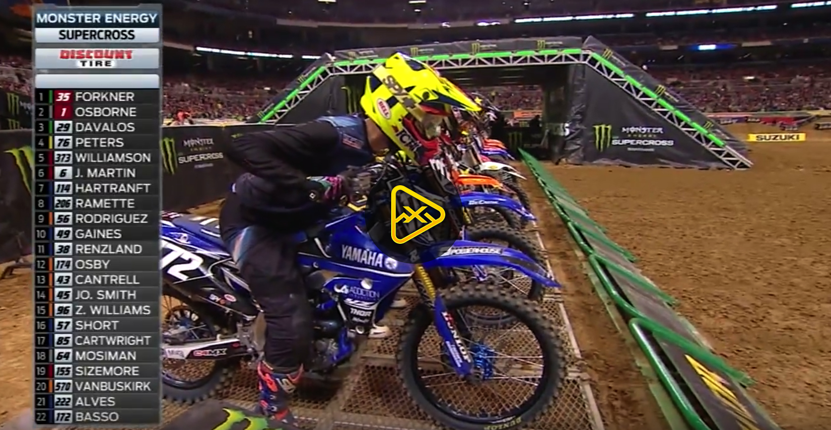 250SX Highlights – 2018 St Louis SX