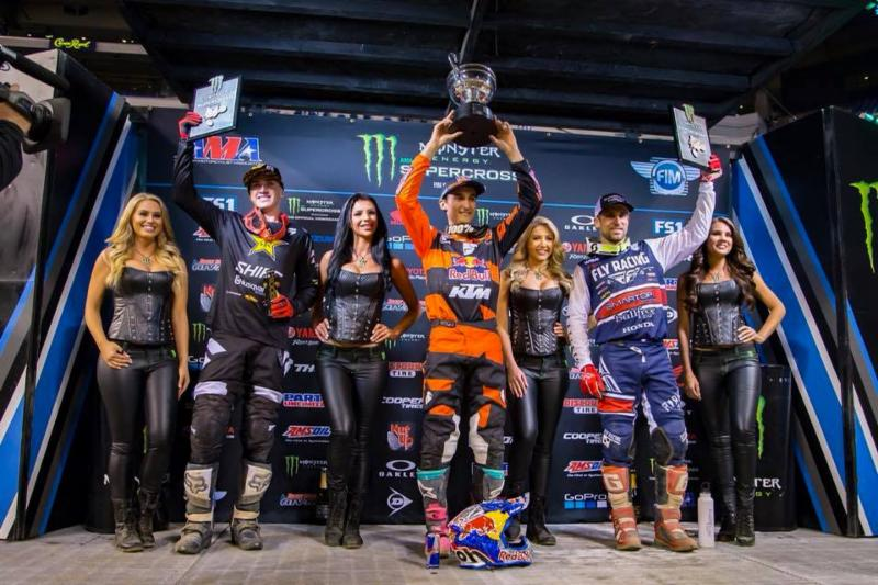 Musquin and Martin win at 2018 Indianapolis SX
