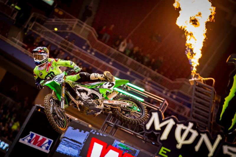 Tomac and Osborne Win at 2018 St Louis SX