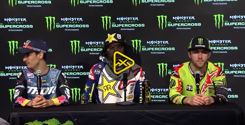 450SX Press Conference – 2018 Atlanta SX