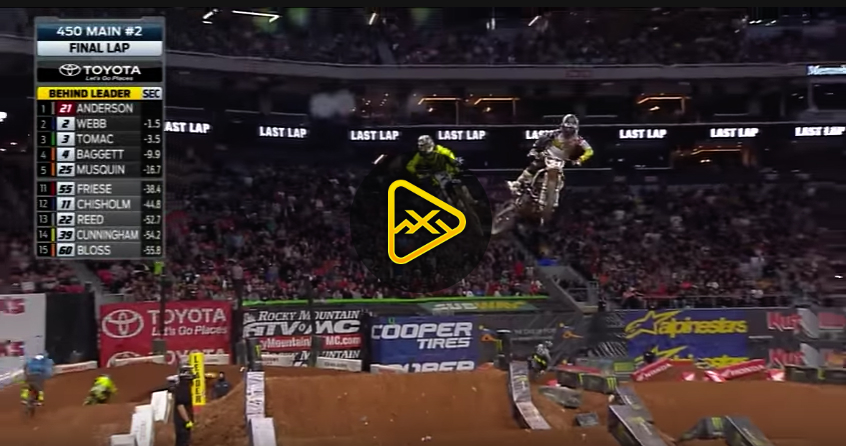 450SX Main Event Highlights – 2018 Atlanta SX