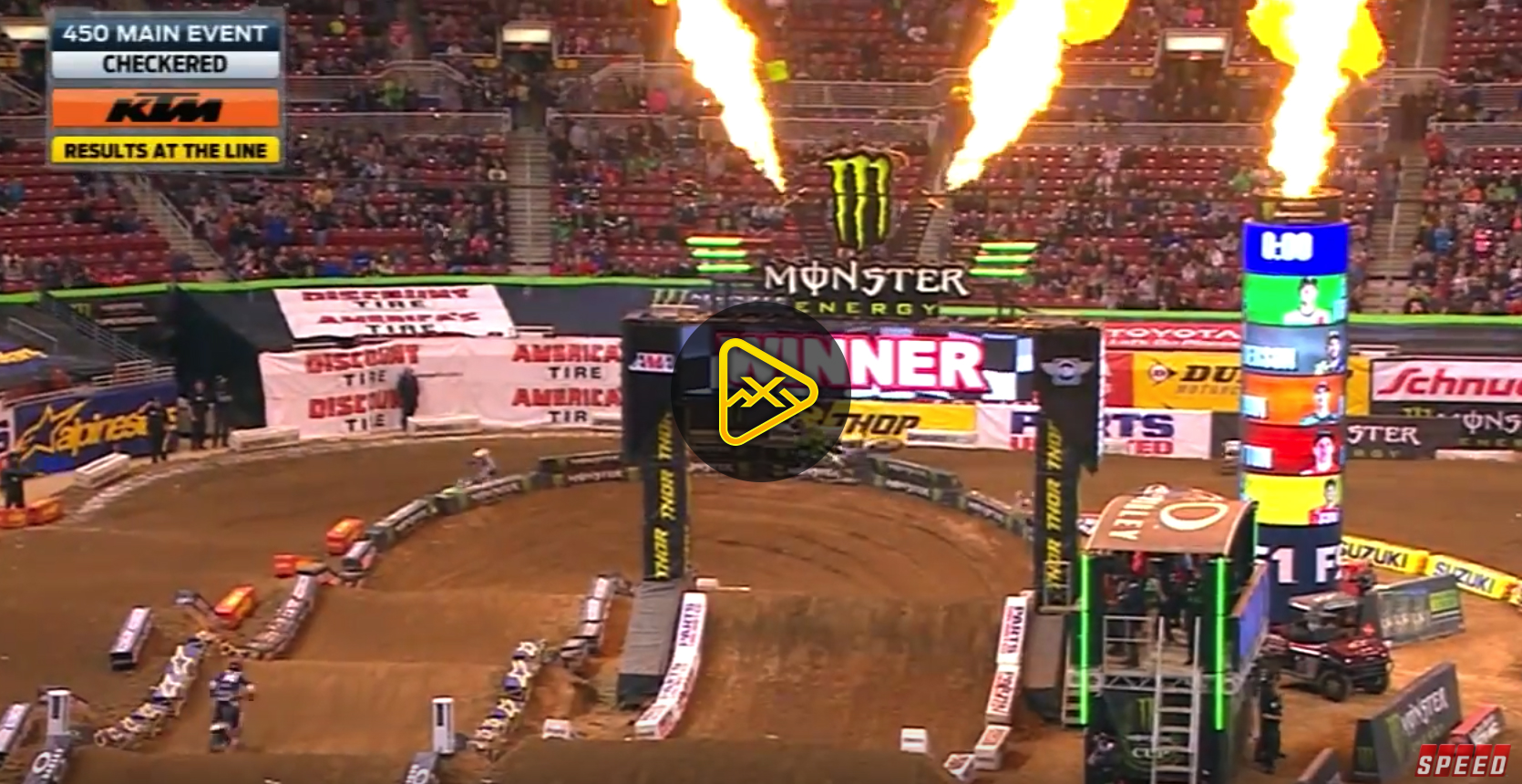 450SX Main Event Highlights – 2018 St Louis SX