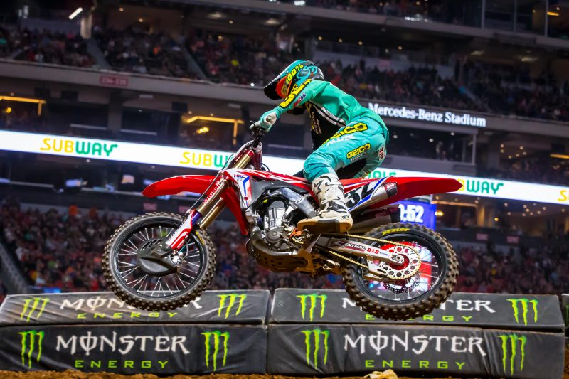 Christian Craig to Ride HRC 450 for Remainder of Supercross Season