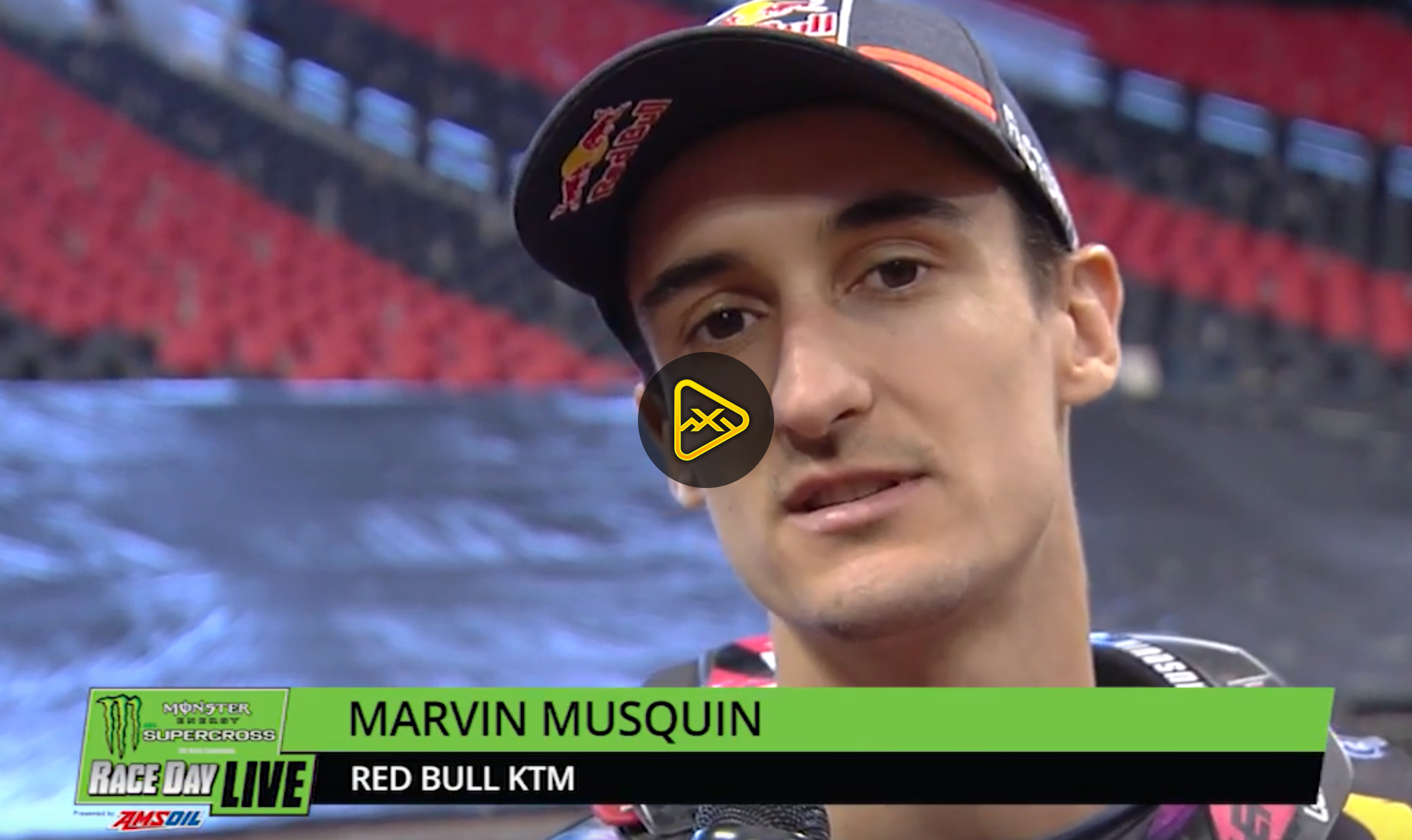 Marvin Musquin Interview – 2018 Atlanta SX