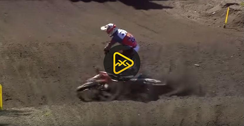Jorge Prado Crash – MXGP Argentina