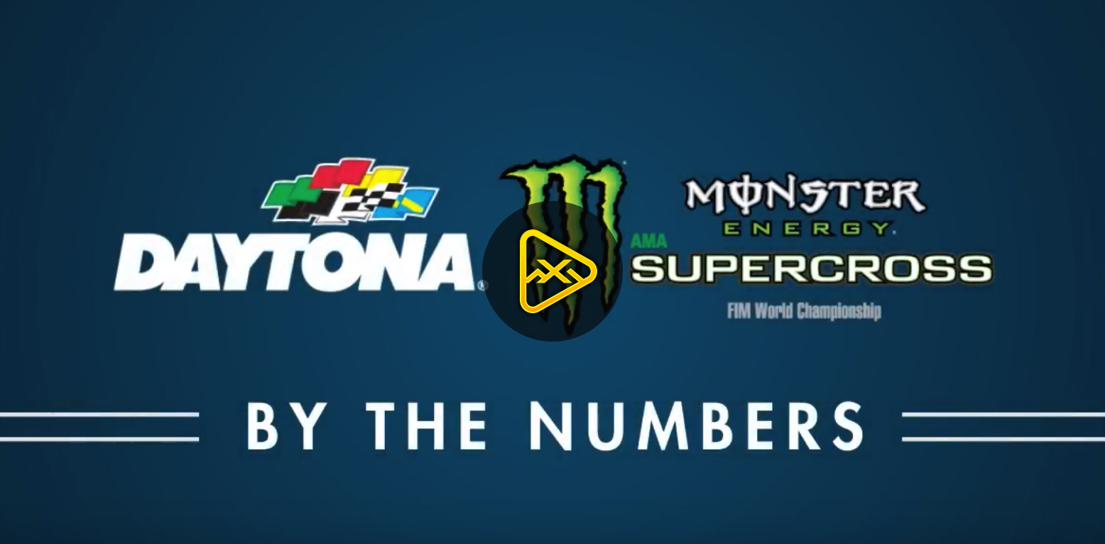 2018 DAYTONA Supercross By The Numbers