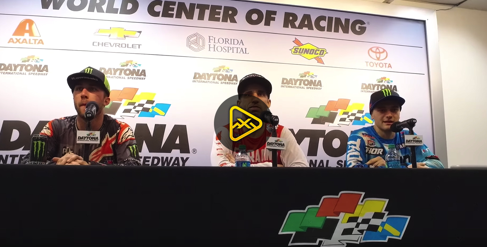 Brayton, Tomac, Webb Interviews – 2018 Daytona SX