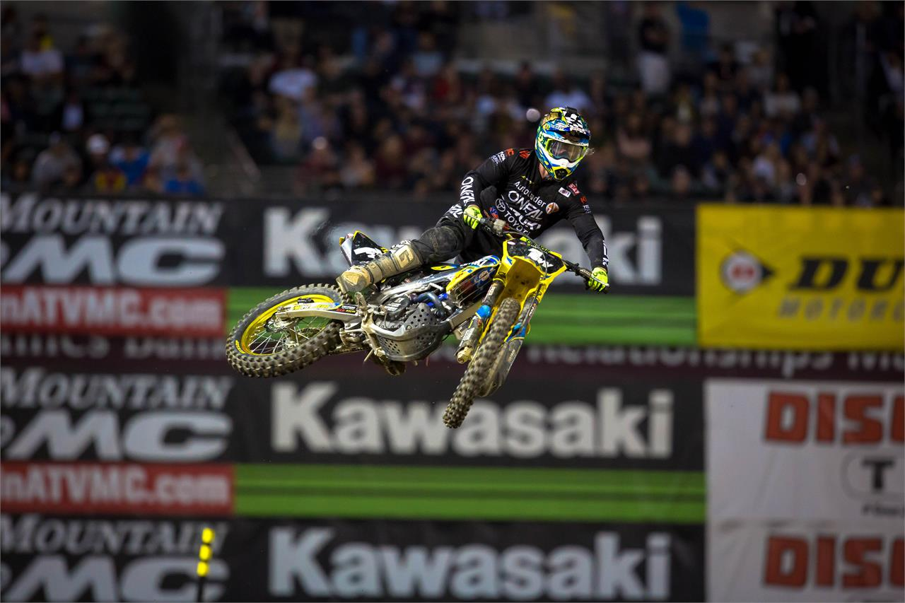Justin Hill Out for Indianapolis SX