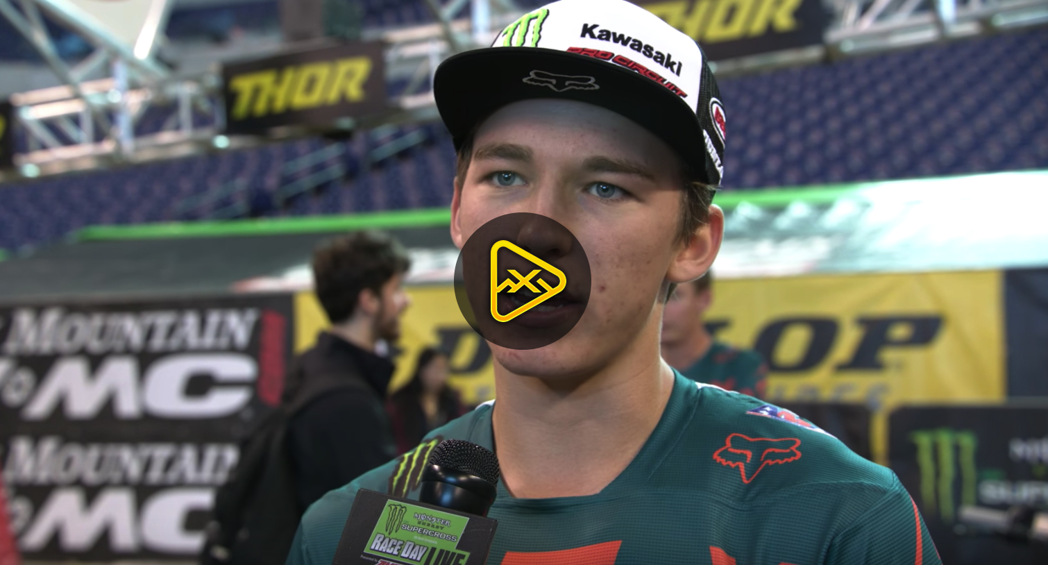 Austin Forkner Interview – 2018 Indianapolis SX