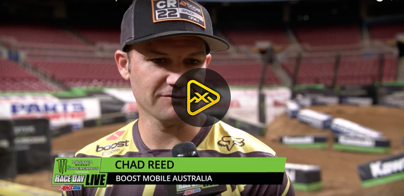 Chad Reed Interview – 2018 St Louis SX
