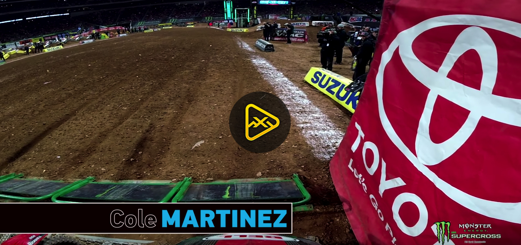 GoPro: Cole Martinez at 2018 Atlanta SX