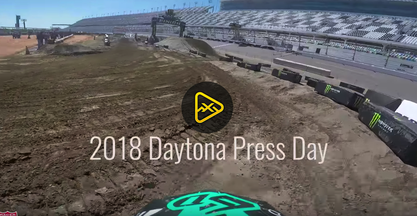 Helmet Cam: Christian Craig 2018 Daytona SX