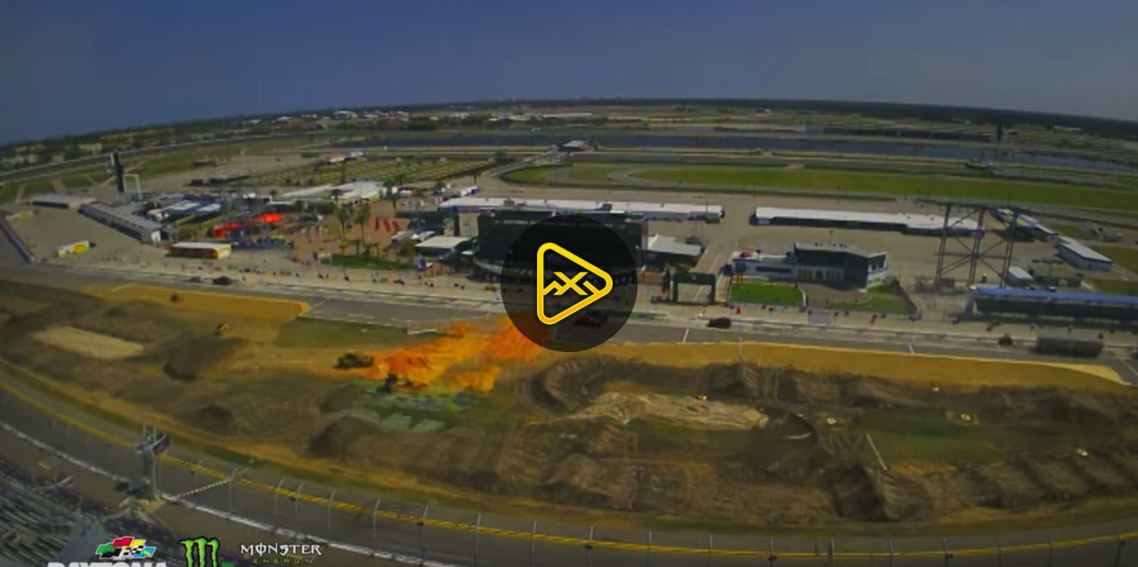 Time Lapse – 2018 Daytona SX Track Build
