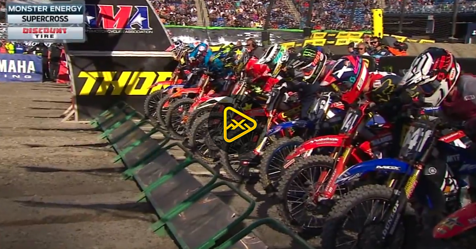 250SX Main Event Highlights – 2018 Foxborough SX