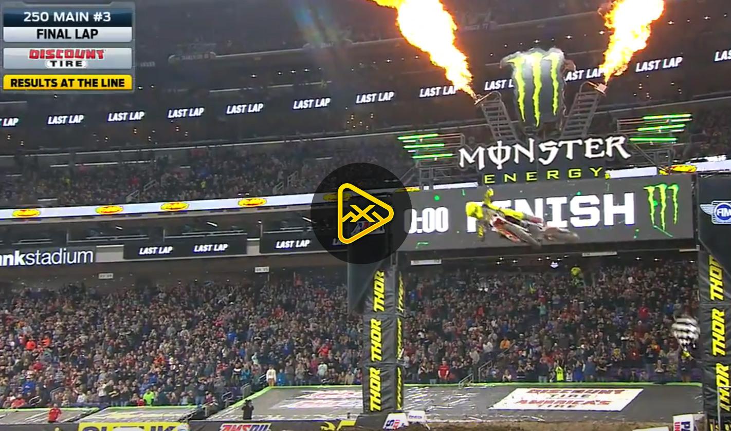 250SX Main Event Highlights – 2018 Minneapolis SX