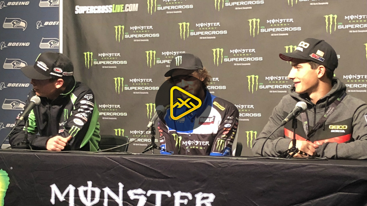 250SX Press Conference – 2018 Seattle SX