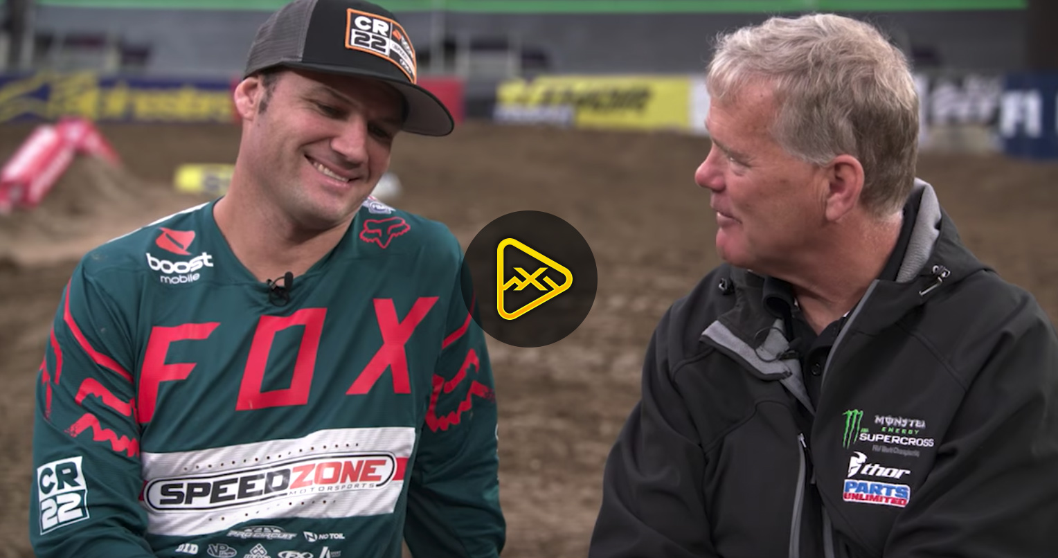Chad Reed Interview – 2018 Foxborough SX