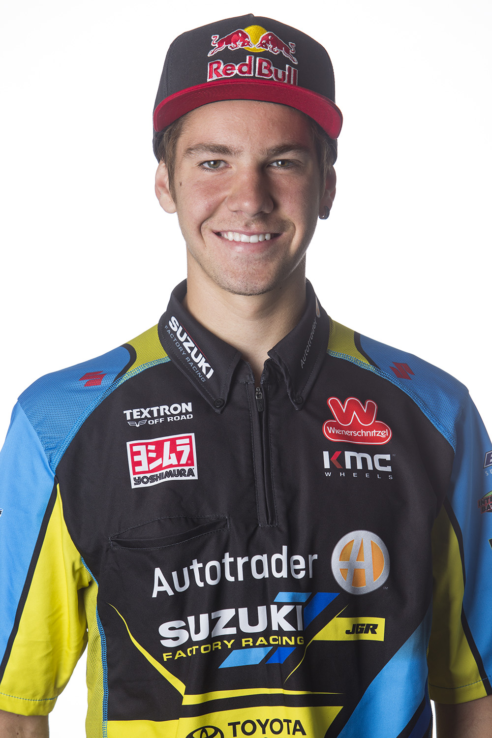 Rookie Enzo Lopes Signs with JGR's for Outdoors