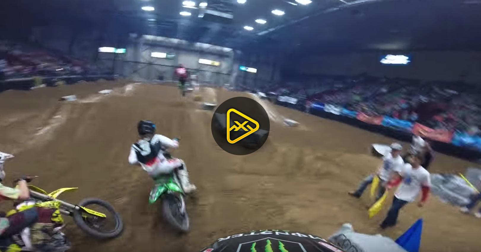 Helmet Cam: Lance Kobusch Open Pro Main – DeltaPlex AX
