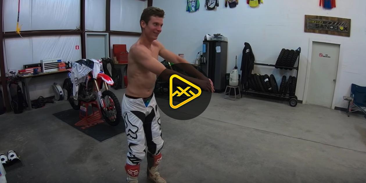 Adam Cianciarulo Vlog – SX Training and… Dancing?