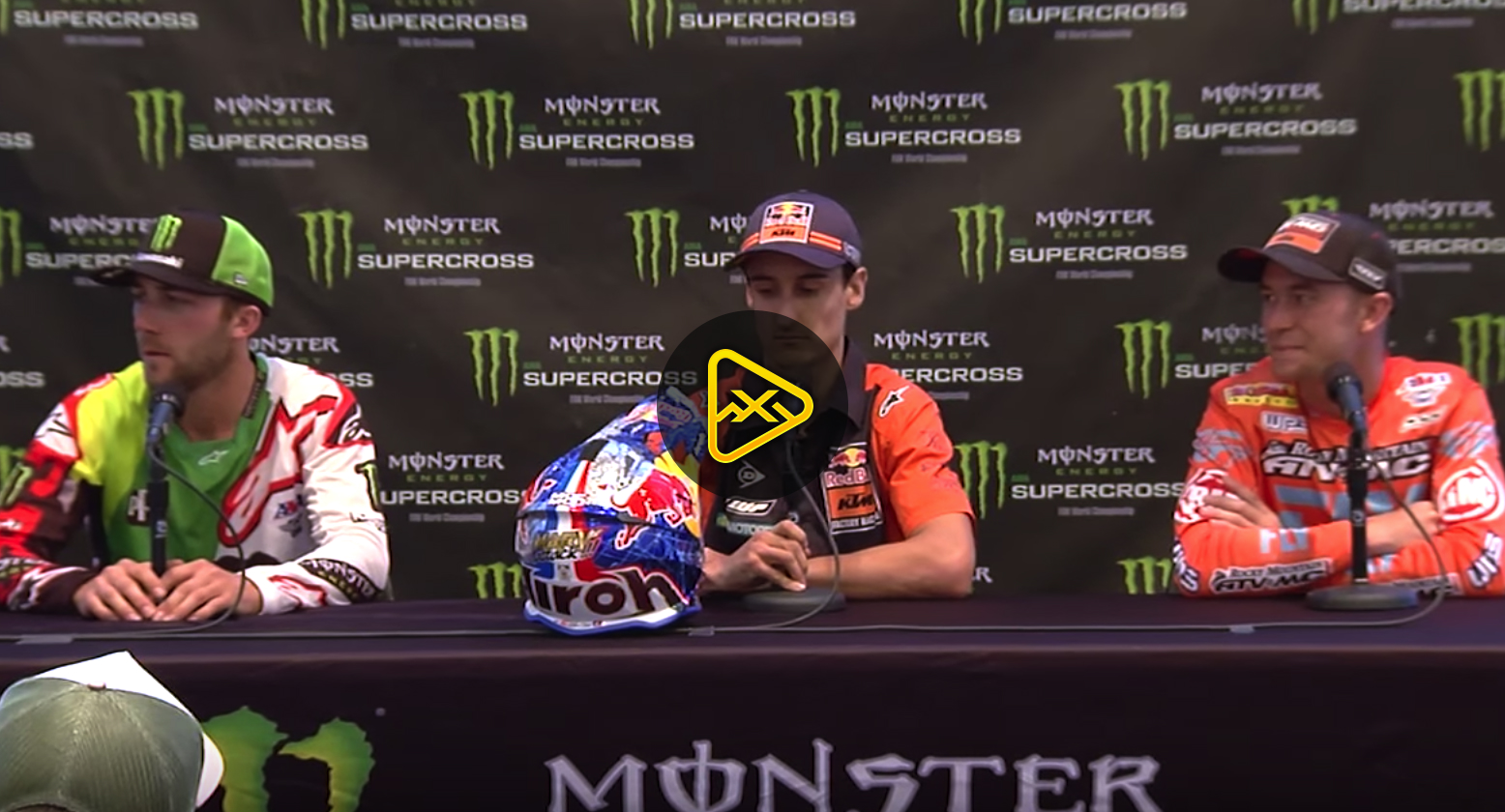 450SX Press Conference – 2018 Salt Lake City SX