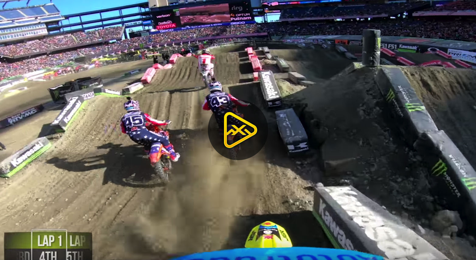 GoPro: Kyle Peters Main Event Foxborough SX