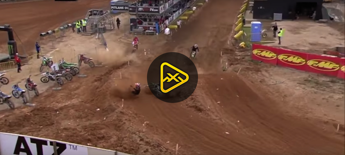 Very Fast Ruben Fernandez Crash – MXGP Portugal