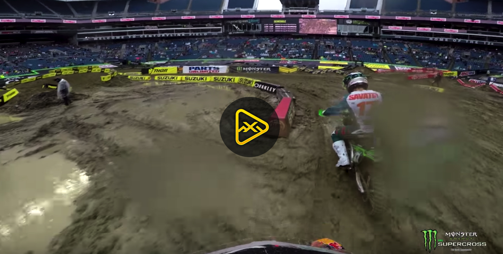 GoPro: Shane McElrath in the Mud of Seattle SX