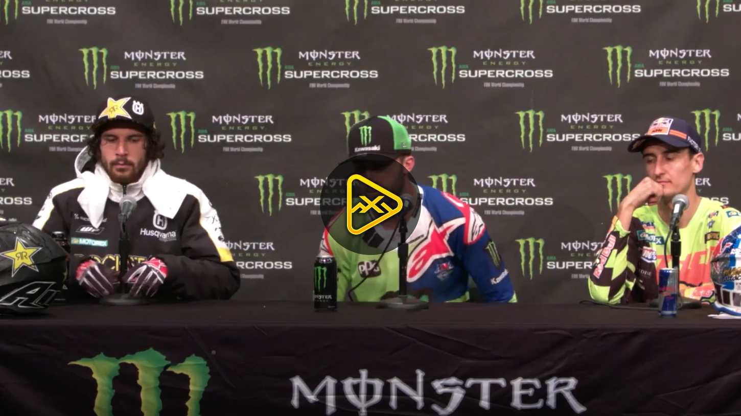 450 Press Conference – 2018 Minneapolis SX