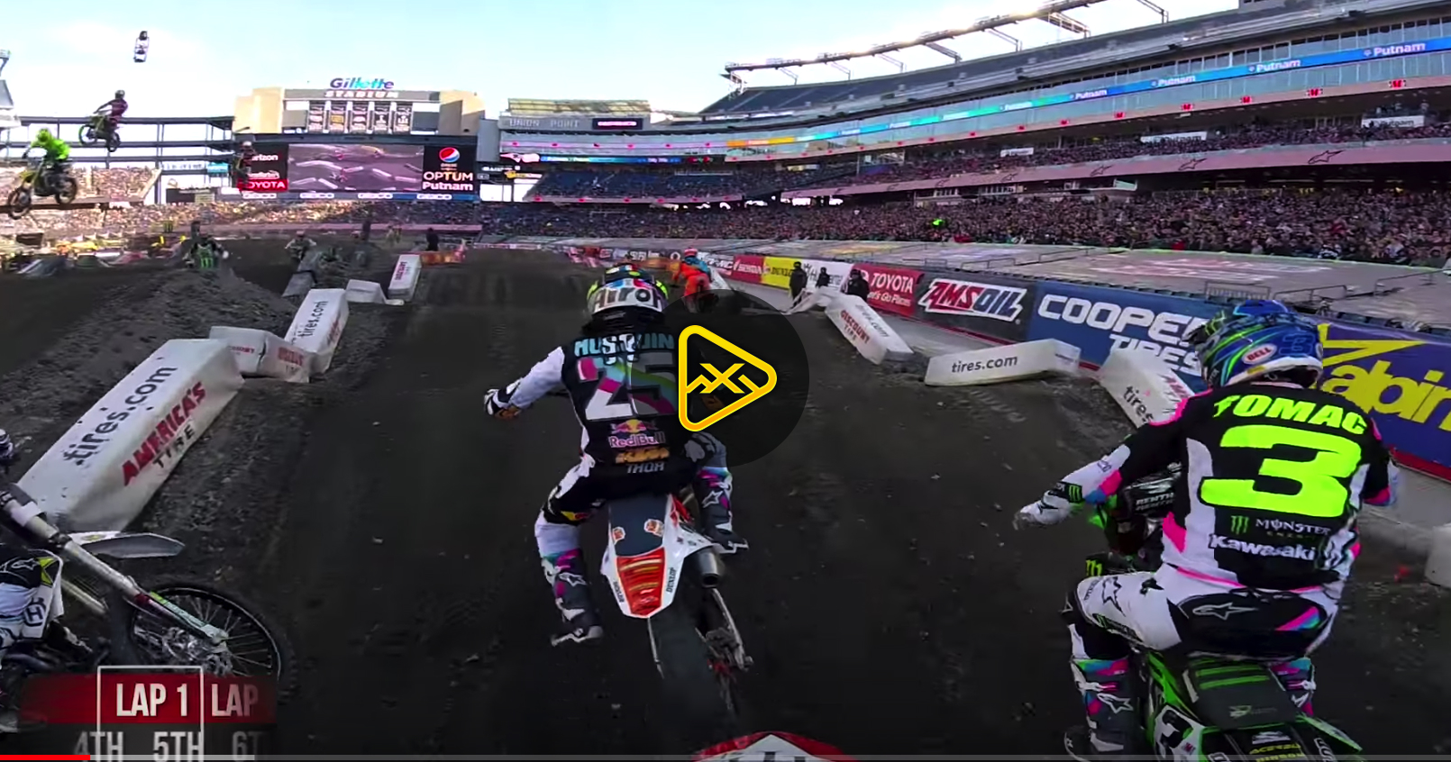 GoPro: Vince Friese Main Event Foxborough SX