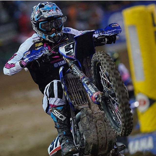 Alex Ray Filling in for Cooper Webb at Factory Yamaha