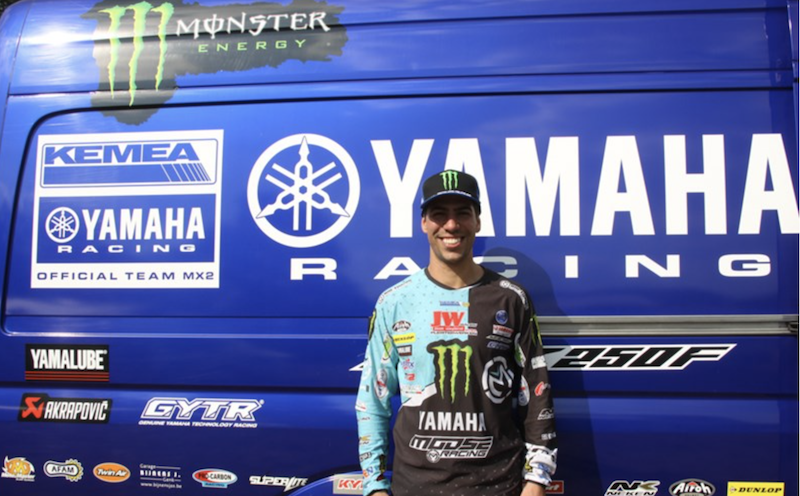 Anthony Rodriguez Signs With Yamaha to Race MX2