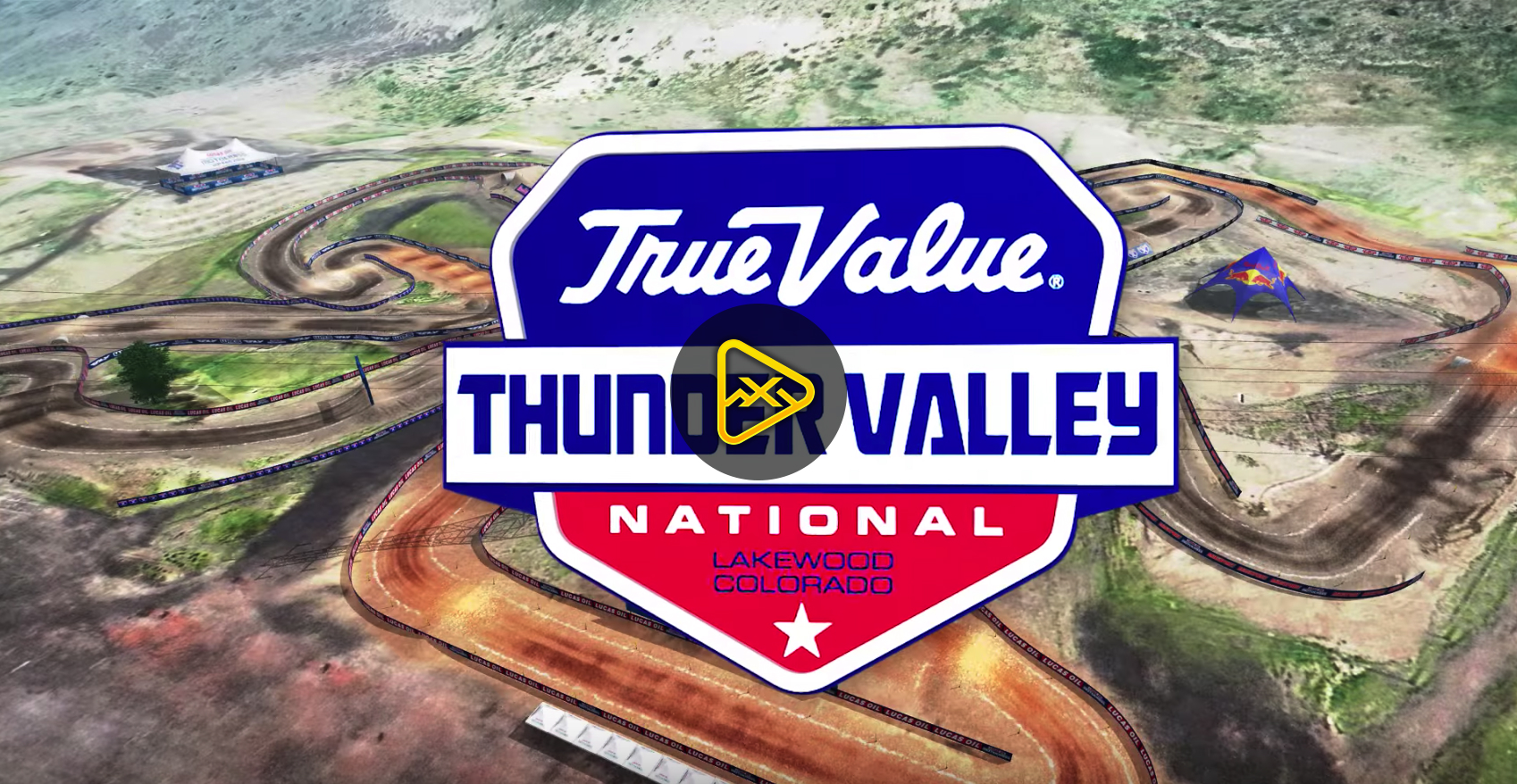 2018 Thunder Valley National Animated Track Map