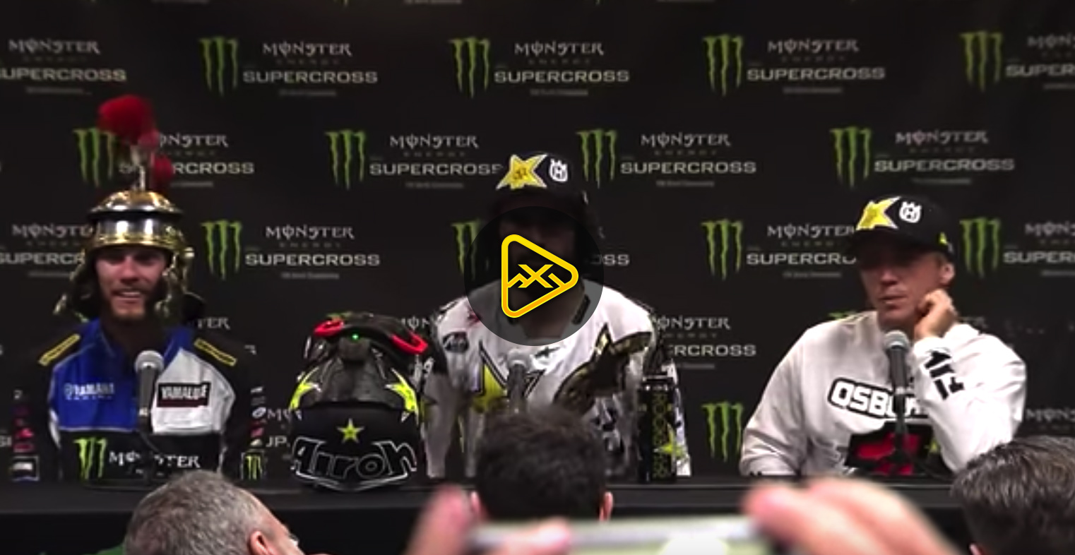 Champions Press Conference – 2018 Las Vegas SX