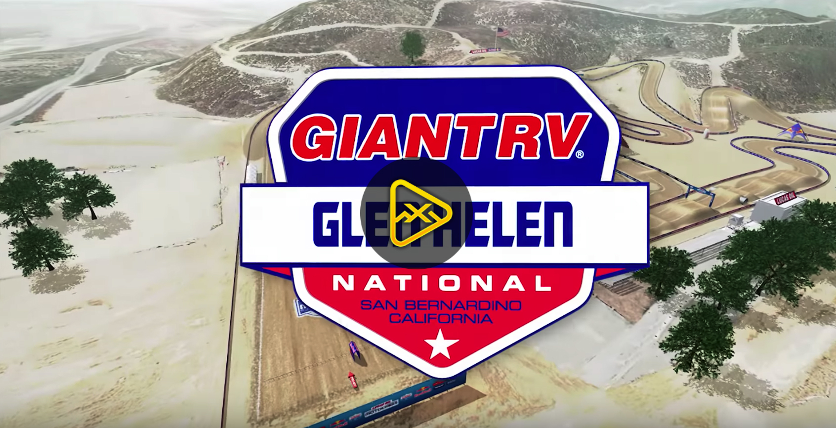 2018 Glen Helen National Animated Track Map