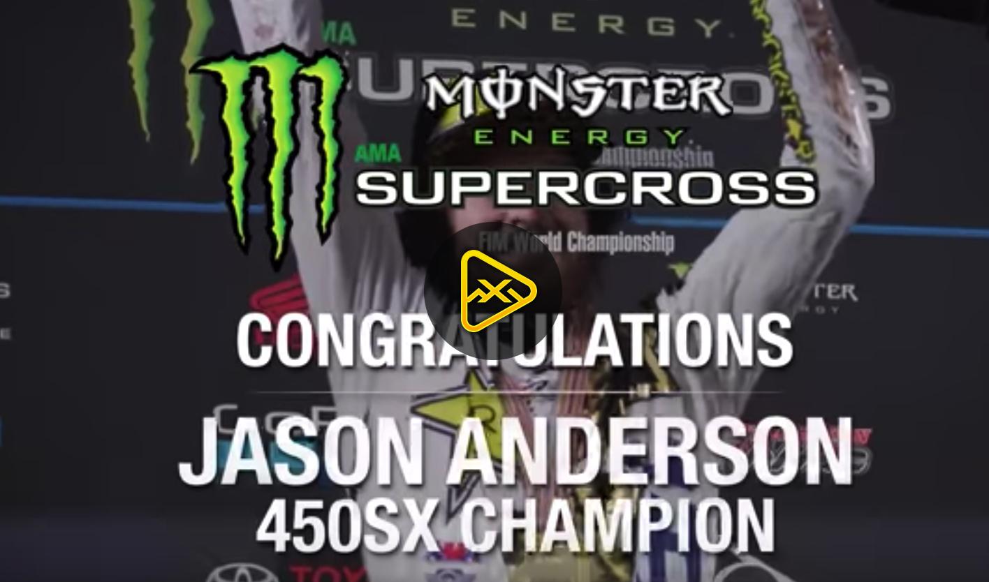 Jason Anderson Championship Tribule Video