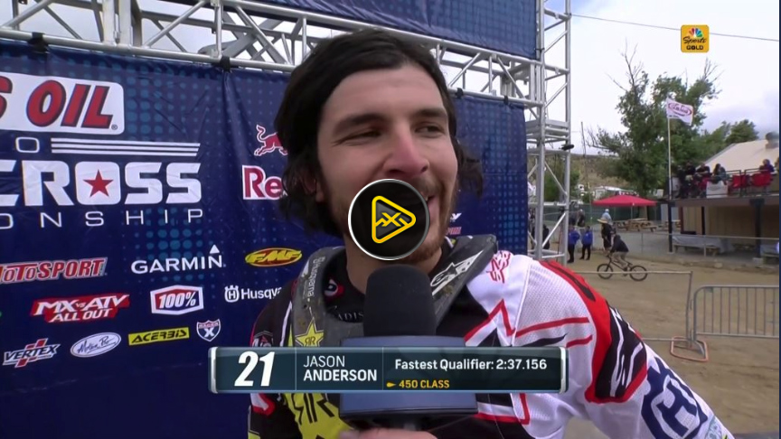 Anderson and Cooper Interviews – Fastest Laps